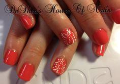 Shellac nails tropix Shellac Nail Designs, Shellac Nails, Nail Stuff, Summer Nails, Hair And Nails, Nail Ideas, Body Art, Fashion Beauty, Hair Beauty
