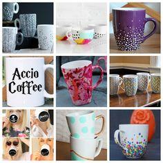 100+ Awesome DIY Coffee Mug Art Creations – Totally The Bomb.com