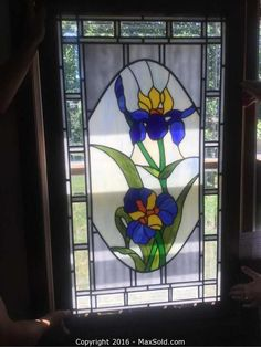 Stained Glass Window and more in Strongsville Online MaxSold Auction. Bid online now!