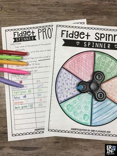 "Fidget spinners in the classroom driving you crazy? Learn how to put a positive ""spin"" on the fidget spinner trend with activities and free resources! 5th Grade Science, 4th Grade Math, Math Classroom, Classroom Activities, Maths, Science Lessons, Teaching Science, Math College, Math Projects"