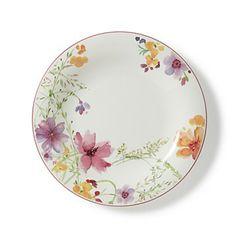 Villeroy & Boch Mariefleur Dinner Plate Home - Dining & Entertaining - Dinnerware - Bloomingdale's Decorative Borders, Decorative Plates, Villeroy Boch Mariefleur, Decoupage, Ceramic Tableware, Porcelain Dinnerware, Melamine Dinnerware, Plate Design, China Patterns