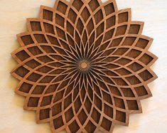 Corte láser de madera MDF de grandes buques rueda Craft forma Placa Sin Pintar 20,30 40cm