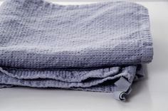 Linen waffle towel. Washed waffle natural eco by notPERFECTLINEN, $12.00