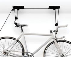$27 for an Overhead Bike Storage System