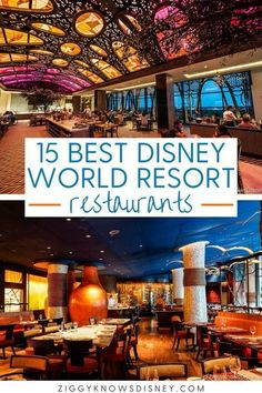 Don't know where to eat at the Walt Disney World Resort hotels? Ziggy Knows Disney has got you covered. In fact, most of the top restaurants in Disney World are found at the resorts and not in the parks. That's why we've come up with our rankings of the Best Disney World Resort Restaurants!