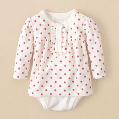 winter wear for Sophia! newborn - girls - 2-in-1 thermal bodysuit | Children's Clothing | Kids Clothes | The Children's Place