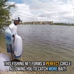 Make capturing live bait easy and fun with this Magic Fishing Net. eels softer, throws easier, and lies flatter. Quality craftmanship and materials make this net a must have for any fisherman. Fishing Rigs, Fishing Tools, Crappie Fishing, Shade Loving Shrubs, Cast Nets, Pontoon Boat, Cool Inventions, Useful Life Hacks, Saltwater Fishing