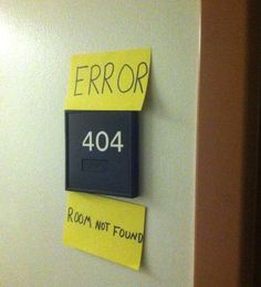 Room not found.