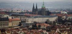 CZ Prag - krásný pohled na Hradčany