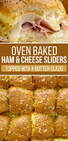 Ham And Cheese Sliders Hawaiian, Ham Cheese Sliders, Ham And Swiss Sliders, Sweet Roll Recipe, Great Recipes, Favorite Recipes, Hawaiian Sweet Rolls, Baking With Honey, Kauai Hawaii
