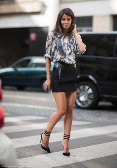 la modella mafia Model off Duty Vogue Spain Fashion Editor Barbara Martelo street style via stockholmstreetstyle