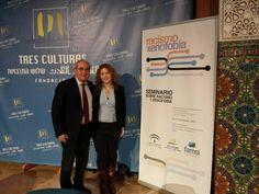 Con Luís Vargas en el Seminario organizado por la Junta de Andalucía sobre Racismo y Xenofobia.