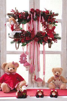 Guirlanda de Natal - DIY, Christmas, Craft