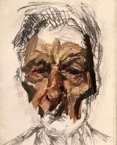 Lucian Freud, self-portrait on ArtStack #lucian-freud #art