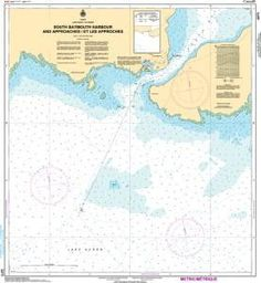 CHS Nautical Chart 2273: South Baymouth Harbour and Approaches
