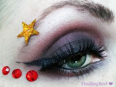 Sailor Saturn inspired Make Up by http://findlingbeet.blogspot.de/2013/05/make-up-dreamz-10-sailor-saturn-amu.html #SailorSaturn #MakeUp #SailorMoon