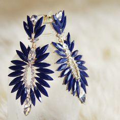 Midnight Stone Earrings