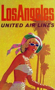 UNITED AIR LINES  AD-L.A.