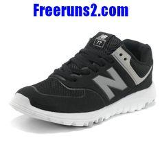 finest selection 42e60 05136 New Balance MS77BK retro Hommes Chaussures Gris Noir