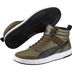 Încălțăminte casual bărbați - Puma PUMA REBOUND STREET V2 Rebounding, Reebok, High Tops, High Top Sneakers, Branding, Adidas, Nike, Street, Casual