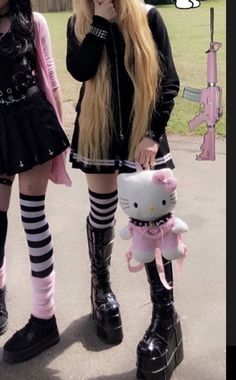 Edgy Outfits, Grunge Outfits, Cool Outfits, Fashion Outfits, Scene Outfits, Aesthetic Grunge, Aesthetic Fashion, Aesthetic Clothes, Grunge Goth