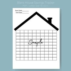 Savings Challenge, Money Saving Challenge, Saving Money, Debt Tracker, Self Care Bullet Journal, Save For House, Goals Planner, Budgeting Money, Letter Size