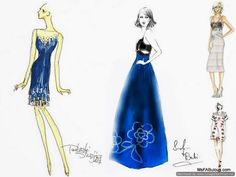 MS. FABULOUS: NY Fashion Week Preview: Spring 2014 Sketchbook fashion design, indie clothing, style, beauty