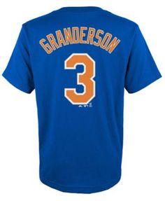 Majestic Kids' Curtis Granderson New York Mets Player T-Shirt