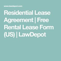 Renting Out Property Put Your Lease Terms In Writing With A
