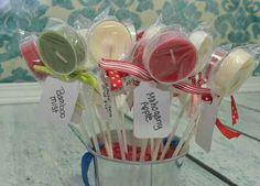 Tealight lollipops
