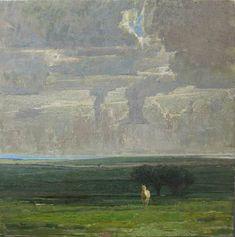 George Carlson paintings | ... George Carlson George-Carlson_Under-an-Idaho-Sky – Southwest Art