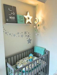 Baby boy bedroom ideas, nursery themes for boys, baby room decor Baby Boy Nursery Themes, Star Nursery, Baby Boy Rooms, Nursery Wall Decor, Baby Boy Nurseries, Baby Room Decor, Nursery Room, Girl Themes, Baby Bedroom