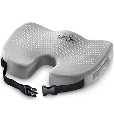Seat Cushion Memory Foam - With Orthopedic Design To Relieve Coccyx, Sciatica And Tailbone Pain From Prolonged Sitting In The Car, Office Or Kitchen Chairs Upper Back Stretches, Upper Back Pain, Neck And Back Pain, Better Posture, Good Posture, Improve Posture, Pregnancy Back Pain, Lower Back Problems, Shape Of Your Body