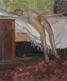 Walter Richard Sickert, Reclining Nude (Thin Adeline), 1906