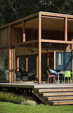 New Zealand Island House by Crosson Clarke Carnachan