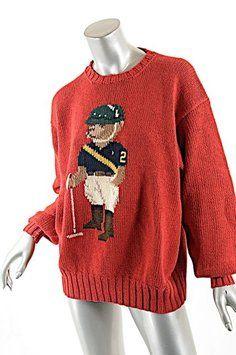 Ralph Lauren Vintage Polo Sweater