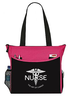 Nurse Bag The Art Of Caring Caduceus Tote Handbag Great Gifts For Nurses