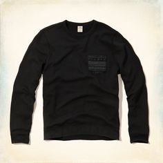 Guys Pattern Pocket Sweatshirt | Guys Tops | HollisterCo.com