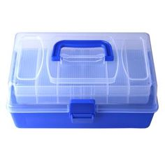 Guitar Pick Jewelry Fishing bait Case Storage Box Container 15 Grid