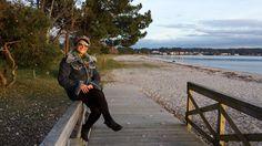 #anabelycarlos disfrutando de este hermoso paisaje a las orillas del mar!! blog.carlossanin.com