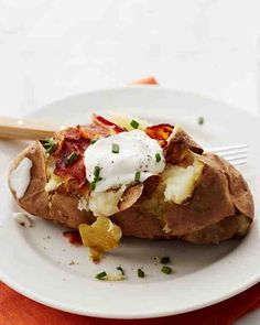 Martha's Baked Potatoes and more on MarthaStewart.com