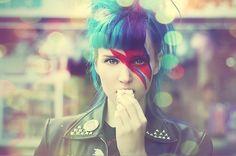 Referência Bowie! ♥