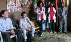 dailyexpress:  The Princess Royal visited a Tierkidi refugee camp in Ethiopia, Sept-Oct 2014.
