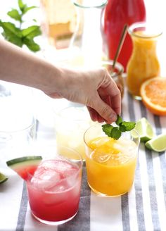 Fresh & flavorful skinny margarita