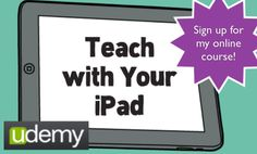 Teach with Your iPad: Instruct, Assess & Manage Your Class with a Single iPad