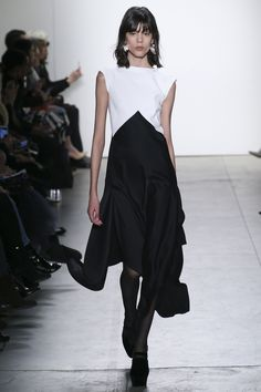 Tome Fall 2017 Ready-to-Wear Collection Photos - Vogue (Handkerchief Hem Dress)