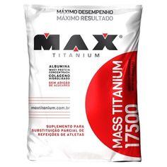 Max Titanium - Mass Titanium 17500 Refil 1.4 kg por R$47,00