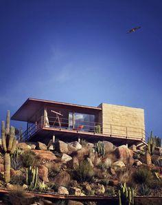 bipodo.am Desert Refuge by Alfaro Fabian