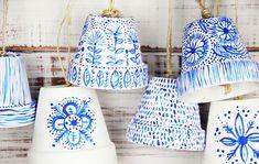 alisaburke: flower pot bells. Super cute. Love these designs (for bell or just as pots)