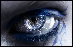 Image result for clock eye contacts